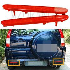 2X Rear Bumper Reflector Light Cover For Honda CRV CR-V 05-06 Element Acura TSX