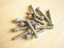 """6-32 UNC x 3/4"""" Caphead brugola in acciaio inox Qtà 12"""
