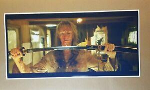 """Kill Bill 2 Movie Poster 12"""" X 24"""" Wide Screen Print Hanzo Sword Uma Thurman"""