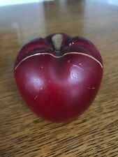 Wooden Red Apple Recipe Holder Country Kitchen