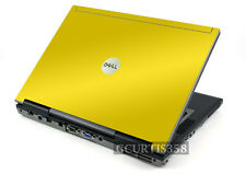 YELLOW Vinyl Lid Skin Cover Decal fits Dell Latitude D420 D430 Laptop
