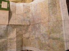 England 1960-1969 Date Range Antique Europe Folding Maps