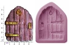 FAIRY / CASTLE DOOR Large Craft Sugarcraft Fimo Sculpey Soap Silicone Rubber Mo