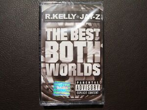 Jay-Z and R. Kelly - The Best of Both Worlds - AUDIO CASSETTE, Sealed, Rare