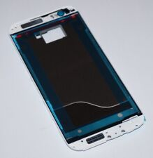 Original htc One M8 Display Frame LCD Support Frame White Silver Glacial Silver