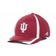 Indiana Hoosiers NCAA Adidas Youth Sideline Flex Cap Hat Kid's IU University IN