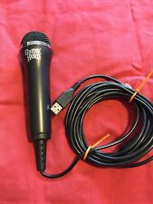 Guitar Hero Mic Rock Band Microphone Xbox 360 PS3 Wii ~EXCELLENT CONDITION!