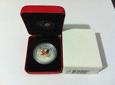 2005 50c YEAR OF THE ROOSTER COLOURED 1/2oz SILVER COIN