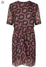 Isabel Marant Ikat Print Silk Tehora Dress 38 8/10
