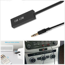 1X Vehicle Portable 3.5mm Bluetooth Receiver Audio Receptor USB to Audio Adapter