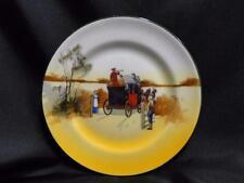 "Royal Doulton Coaching Days, Mail Coach & Bugler: Bread Plate, 6 7/8"", 8b"