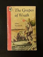1946 THE GRAPES OF WRATH by John Steinbeck, Bantam Books Vintage Paperback