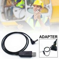 Radio USB Charger Cable Charging Cord For BaoFeng Walkie Talkie UV5R UV82 BFF8H