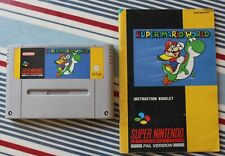 Super Mario World SNES - Super Nintendo 1992