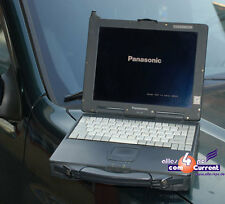 Vandalisme sûr portable panasonic touchbook cf-27 cf27 rs-232 F windows 95 98