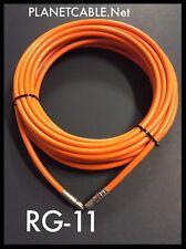 50 FT RG11 COAXIAL UNDERGROUND CABLE DROP INDOOR/OUTDOOR w Gel COAX RG-11 50'