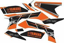 Graphic kit for 2003-2008 Yamaha YFZ450 YFZ 450 ATV decals stickers  Orange