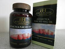 Body & Health Antartica Pure Red Krill Oil 500mg 60 Capsules