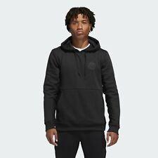 Adidas Endurecer Sudadera con Capucha Hombre Negro Sólido Entallada Active Ropa