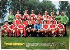 Mannschaftsbild Fortuna Düsseldorf von 1975