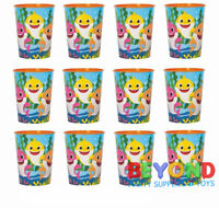 Baby Shark 16oz Favor Cups Birthday Party High Quality Reusable Cups