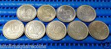 1953,1956,1957H,1957KN,1958,1960,1961,1961H,1961KN Malaya & British Borneo Coin
