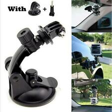 Go pro Car Suction Cup Adapter Window Glass Mount Holder Tripod for Gopro Hero4