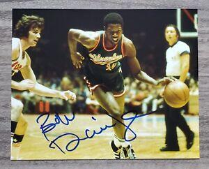 Bob Dandridge Signed 8x10 Photo Milwaukee Bucks NBA HOF LEGEND RAD