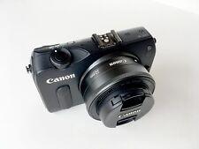 Canon EOS M original with 22mm STM macro lens