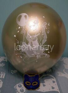 "Big 24"" balloons with ""Wiki tan"" print"