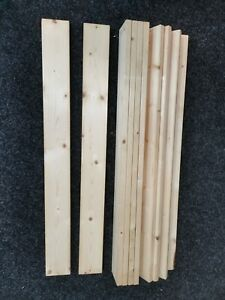 89.5cm Single Bed Chunky Solid Wooden Flat Slats