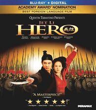 Hero Sealed New Blu-ray Jet Li
