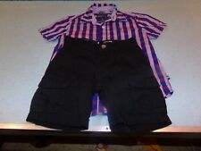 NWOT- Toddler Boy's Nautica Blue Short Set- Size 4- NEW!!!