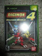 Digimon World 4 (Microsoft Xbox, 2005) Neu Versiegelt