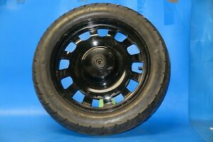 Keeway Superlight 125 Front wheel complete in black with disc and tyre