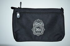 DEA DRUG ENFORCEMENT AGENCY BANK BAG MONEY BAG 40TH ANNIVERSARY RARE FBI CIA ATF