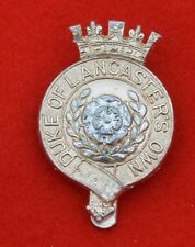 British Army – Duke of Lancaster's Own Yeomanry Genuine OR's Cap Badge