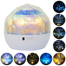 LED Magic Light Projector Star Moon Sky Baby Kid Night Mood Lamp Gift Galaxy NEW