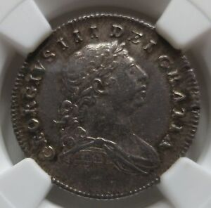 IRELAND Eire Britain George III. 10 pence Silver Bank Token 1805 NGC UNC Details