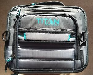 Titan Deep Freeze Expandable Lunch Box Color Grey