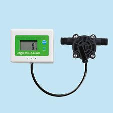 "Digital Flow Meter Measuring Flow Rates of 0.6-8.0L/Min: 1/4"" BSP"