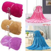 Super Soft Warm Solid Warm Micro Plush Fleece Blanket Throw Rug Sofa Bedding Pro