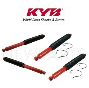 NEW For Ford F-450 F-550 Super Duty Front and Rear Shock Absorbers KYB Kit