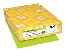 Exact Color Copy Paper 8 12 X 11 Inches 20 Lb Bright Green 500 Sheets