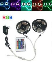 10m Bandeau Led Ruban Flexible, 600smd Led3528 Rgb+Manette+Alim EU
