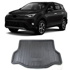 For Toyota RAV4 2013-2017 Car Rear Trunk Mat Boot Cargo Tray Floor Mat Protector