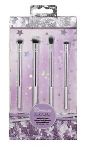 Real Techniques Limited Edition Eye Brushes - Metallic