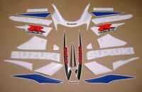 GSXR 600 2001 complete decals stickers graphics k1 restoration pattern mark set