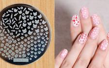 Arte de uñas imagen Planchas para Estampar placa Decoracion Kitty Gato Patas (jeje 21)