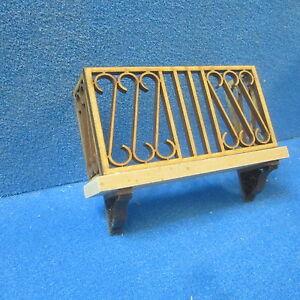 12th scale Tudor Cradle   walnut   JJ05006WN